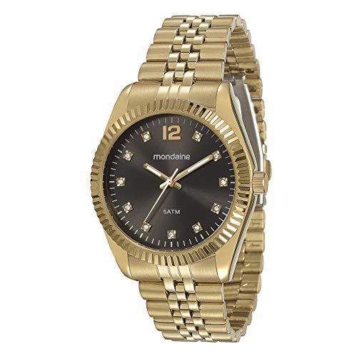 Relógio Mondaine Feminino Fashion Folhado 94789Lpmvds5