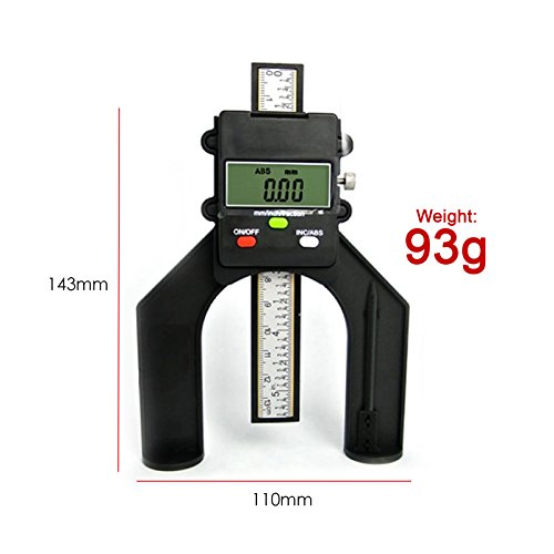 Digital Tread Depth Gauge Magnetic Self Standing Aperture 80mm Hand Routers by Gain Express by Gain Express (Image #7)