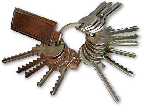 Picklock24. Juego de llaves universales Italia No.2 (15 llaves ...