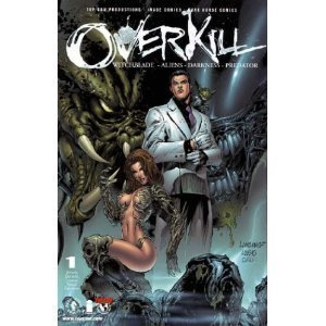 Overkill: Witchblade, Aliens, Darkness, Predator, Vol 1 - Valentino Top
