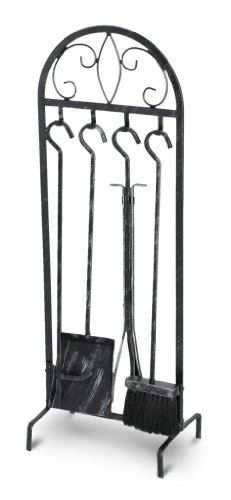 Pilgrim Home and Hearth 19028 Napa Forge Crest Tool Set Brushed Pewter