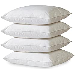 4-Pack Hypoallergenic Down-Alternative, Bed Pillow (Queen)