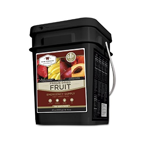 Wise Company Freeze Dried Fruit - 156 Servings Gluten Free by Wise Company