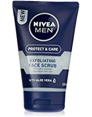 NIVEA MEN Protect & Care Exfoliating Face Scrub, 125ml