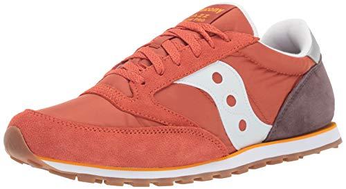 Saucony Originals Men's Jazz Lowpro Sneaker, mecca/Coffee/Orange, 11 M ()