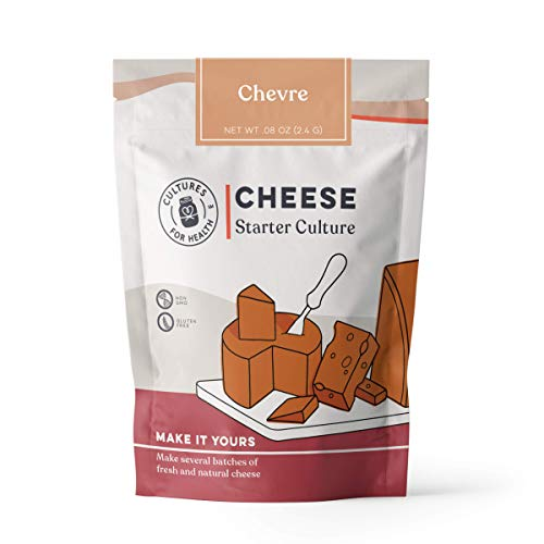 Chevre Cheese Starter Culture | Cultures for Health | Tangy, delicious homemade goat cheese | No maintenance, non-GMO