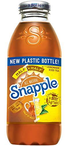 Snapple - Half 'n Half - Tea and Lemonade - 16 fl oz (24 Plastic -