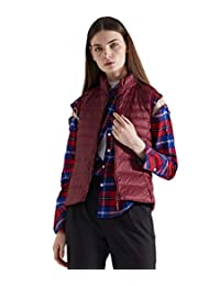 Medeshe Women's Ultralight Short Puffer Down Vest