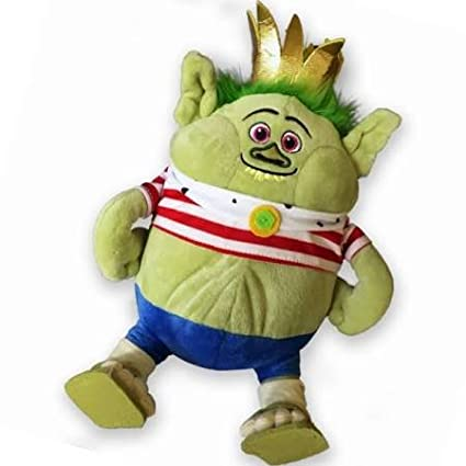 90cm Dreamworks Trolls King Gristle Junior Burgen Plush Toy - Character Toys