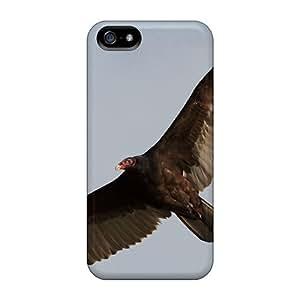 Hot Design Premium JhNDYzt8173INZfJ Tpu Case Cover Iphone 5/5s Protection Case(turkey Vulture) by icecream design