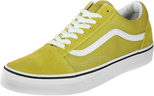 White True Unisex Adulto Green Zapatillas Vans Cress Old U Skool 8Pqxn1fz