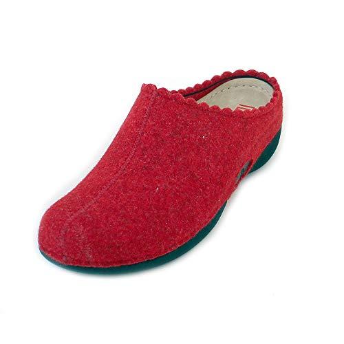 Donna rot 235 Berkemann Rosso Pantofole Laurina IYxxqfE