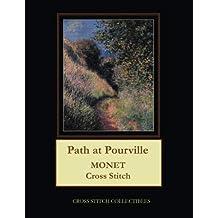 Path at Pourville: Monet Cross Stitch Pattern