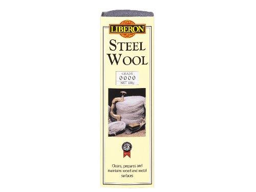 Steel Wax Wool (Liberon LIBSW0000G 100g Grade Steel Wool)
