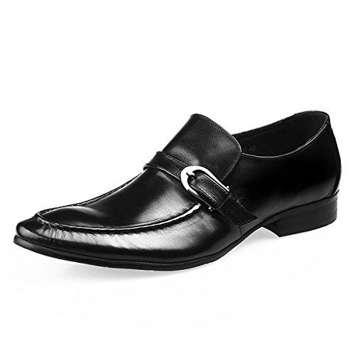 Et Habillées Femmes Black Chaussures Chaussures Haut GRRONG Hommes Gamme De Iwgnx