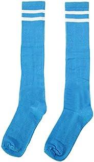 Breathable Football Game Socks Knee Length Socks for Kids, SkyBlue