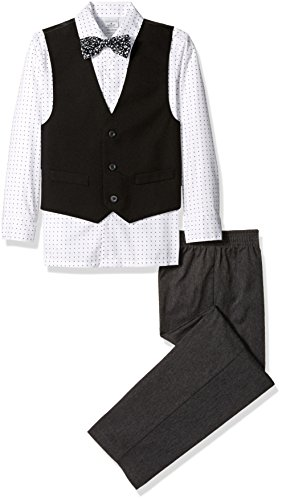 Perry Ellis Solid Poplin Vest