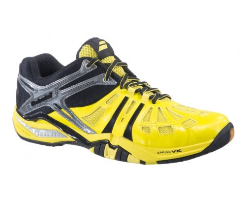 BABOLAT Shadow 2 Zapatilla de Indoor Caballero Amarillo/Negro