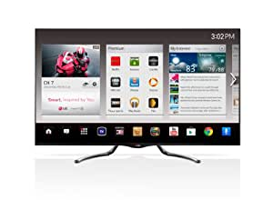 LG Electronics 55GA7900 55-Inch Cinema Screen Cinema 3D 1080p 240Hz LED-LCD HDTV with Google TV and Four Pairs of 3D Glasses (2013 Model)