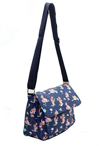 donna amp; Ragazza tracolla Print a Jane Borsa Cats Lilly Navy HSCaqAwwx