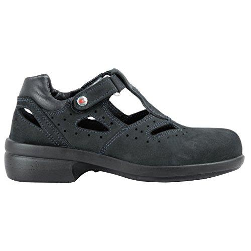 Cofra 84040-001.D41 Frida S1 Chaussures de sécurité SRC Taille 41 Noir