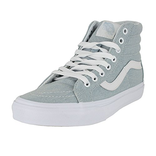 Vans Mens SK8 HI Reissue Denim Baby Blue Size 6.5, used for sale  Delivered anywhere in USA