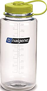 Nalgene 32-Ounce Wide Mouth, Clear Green