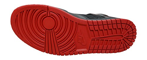 Nike Jordan 1 Flight 4 Prem, Zapatillas de Baloncesto para Hombre black gym red black 006