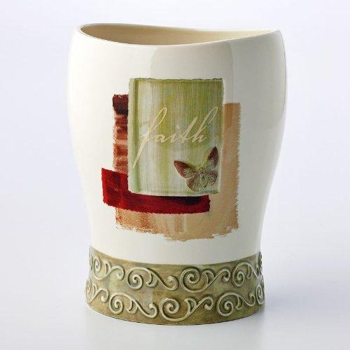 Inspire Scroll Wastebasket (Scroll Wastebasket)