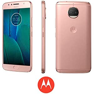 Smartphone Motorola Moto G5s Plus gold rose 5,2″ Pol 32GB Camera 13MP 3GB de RAM+Promoção
