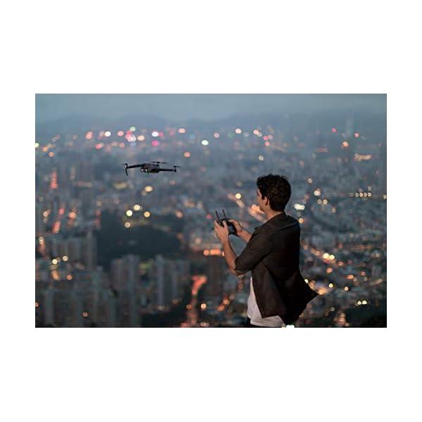 """DJI Mavic 2 Pro Drone con Fotocamera Hasselblad L1D-20c, Video HDR a 10 bit, 31 Min di Autonomia, Sensore CMOS 1"""" 20 MP, Hyperlapse, Rilevamento Ostacoli Omnidirezionale, Grigio 4 spesavip"""