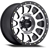 Method Race Wheels NV Black Wheel with Machined Face (18x9''/6x135mm) 18 mm offset
