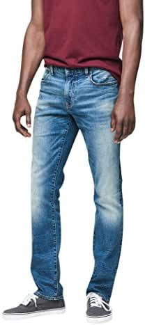 Aeropostale Men's Skinny Vintage Dark Wash Reflex Jean
