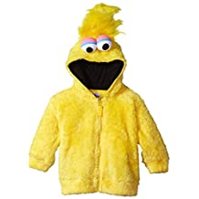 Sesame Street boys Toddler Boys Fuzzy Costume Hoodie (Multiple Characters)