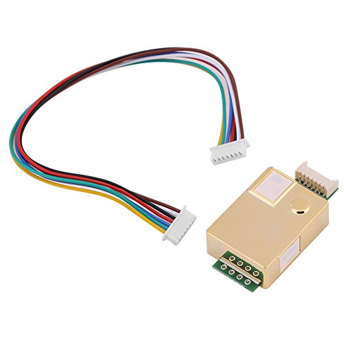 d CO2 Sensor Arduino MH-Z19 For Indoor Home Air Quality Monitor CO2 Detector Sensor ()