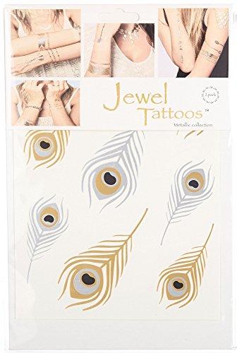 Black Diamond Womens Clover Jewelry Tattoos One Size Metallic multi'