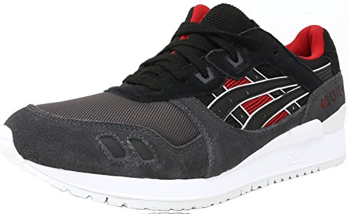 ASICS Men's Gel-Lyte III Fashion Sneaker, Black/Black, 10 M US Asics Mens Ultimate Tiger