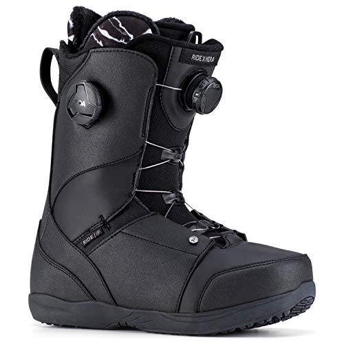 Ride Womens Hera Snowboard Boots, Black, 8.5 (Ride Womens Snowboard Boots)