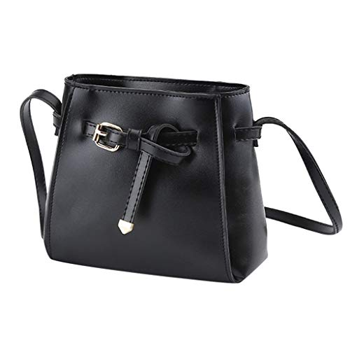 Women's Fashion Leather Crossbody Purses and Handbags Ladies Solid Casual PU Leather Crossbody Shoulder Bag