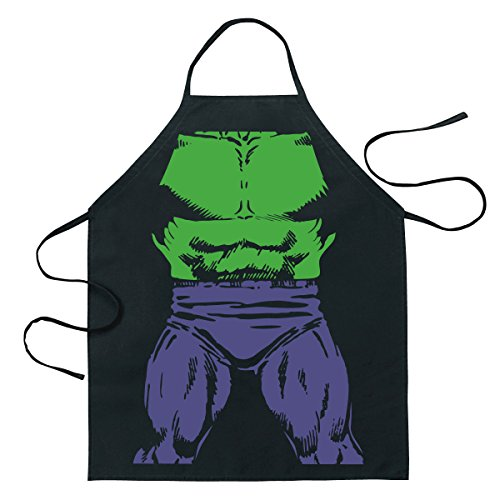 ICUP Marvel - Incredible Hulk Be The Hero Character Adult Size 100% Cotton Adjustable Black (The Incredible Hulk Halloween Costume)