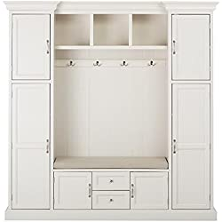 Royce All in one Mudroom, LARGE, POLAR WHITE