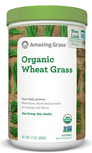 Amazing Grass  Organic Wheat Grass Powder 60 Servings, 17 Oz