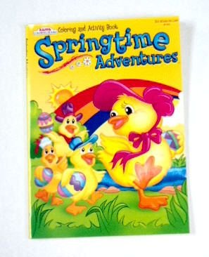 - Easter Springtime Coloring and Activity Book