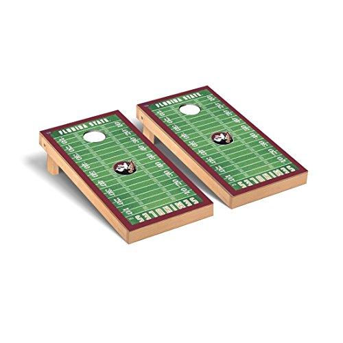 Victory Tailgate Florida State FSU Seminoles Desktop Cornhole Game Set Football Field Version ()