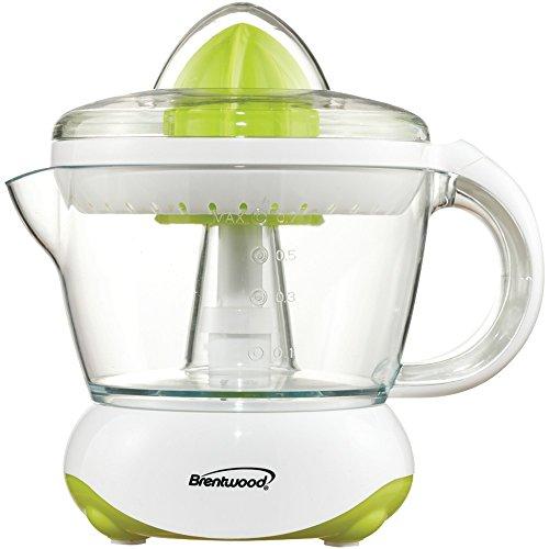 Brentwood Appliances J-15 White Citrus Squeezer/juicer 8.20i