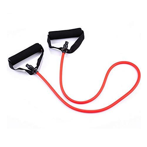 (Twinlight Wholesale Yoga Resistance Bands Tube Rubber Sport Chest Developer Fitness Pedal Exerciser Elastic Yoga Strap Pull Rope (Red) )