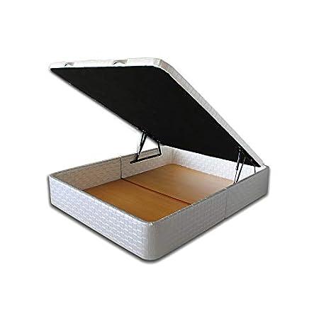 Ventadecolchones - Canapé Modelo Serena Gran Capacidad tapizado en Sevilla Blanco Nacar Medidas 120 x 190 cm: Amazon.es: Juguetes y juegos