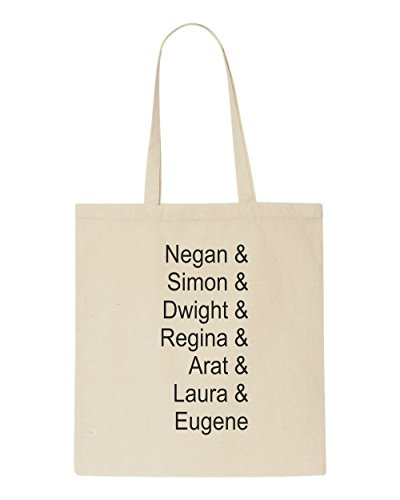 Quote Current Bag Names Dead List Zombie Saviour Tote Of Character Beige Shopper 7znnA0F