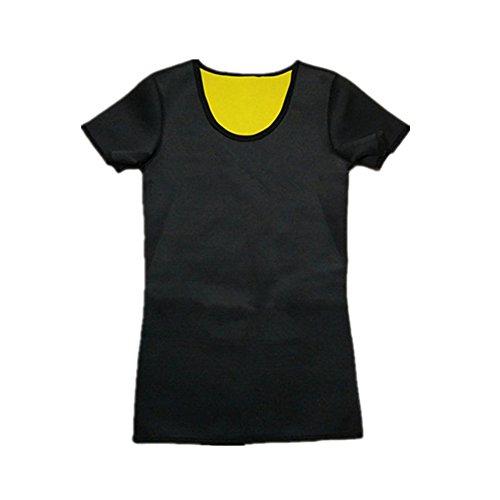 MZjJPN Weight-Loss Neoprene Hot Workout Body Shaper Pants Shirt Vest Men Women Sauna Sweat Shirt chenye Shapers Slimming Pants 1pack 033kg XXXL]()