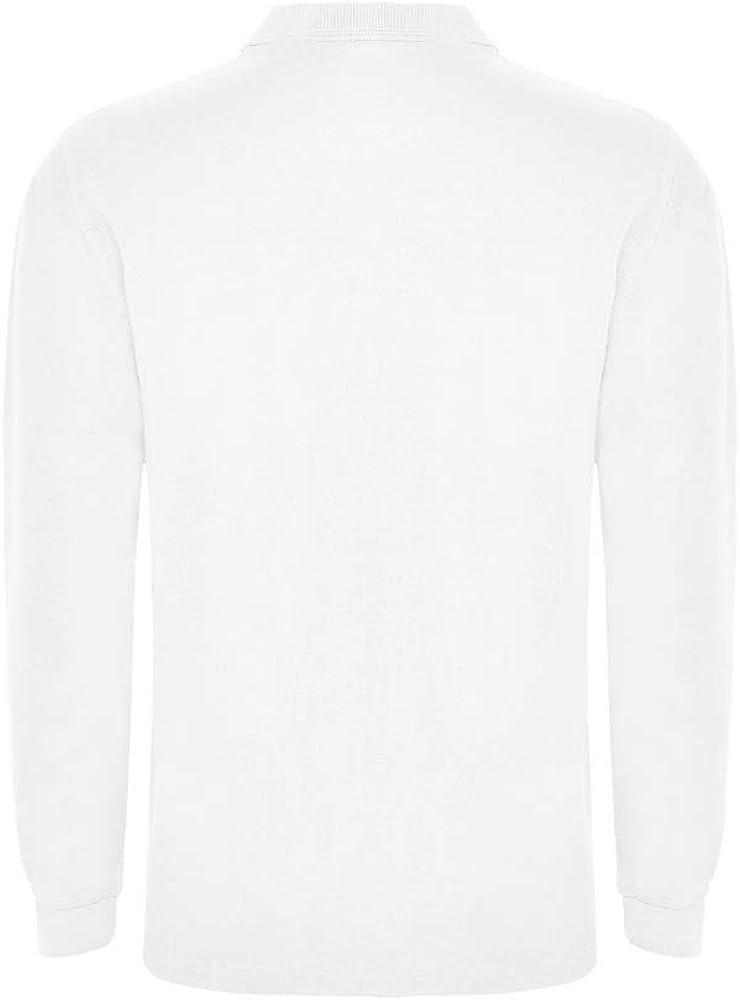 T-shirt tendance d/écontract/é et sportif respirant tapis et trois boutons col c/ôtel/é Polo blanc /à manches longues pour enfants